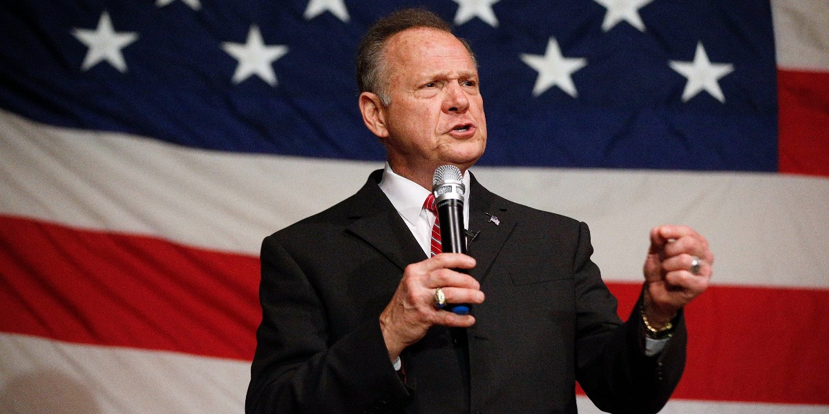 Make Roy Moore the face of the pro-life movement and you might win this battle, but you will definitely lose the war