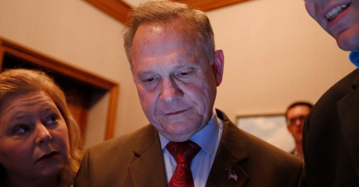 Four theories on why Roy Moore lost