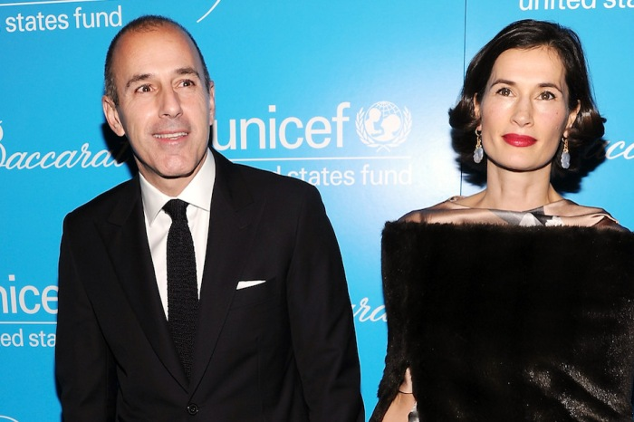 Matt Lauer's wife appeared in public and what she wasn't wearing grabbed everyone's attention