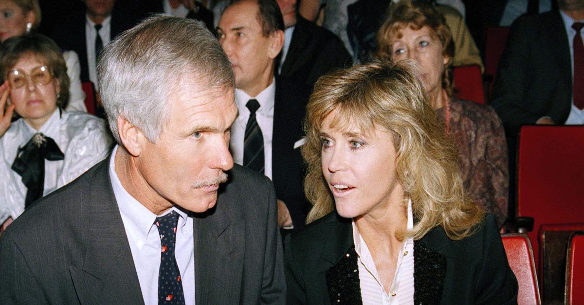 Jane Fonda and Ted Turner