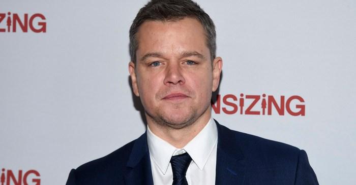 After being slammed for an unpopular opinion, Matt Damon still isn't backing down