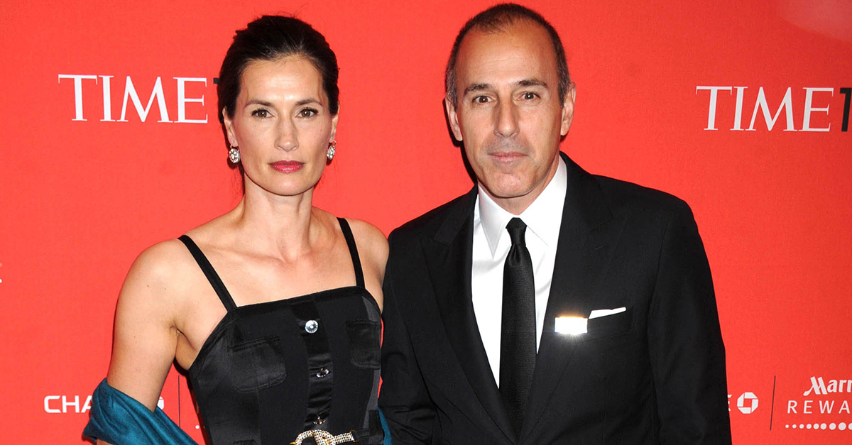 It sounds like things at home for Matt Lauer just got a lot worse