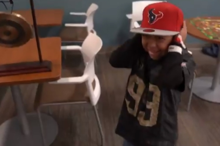 A boy who survives both Harvey and cancer gets an extra gift from J.J. Watt