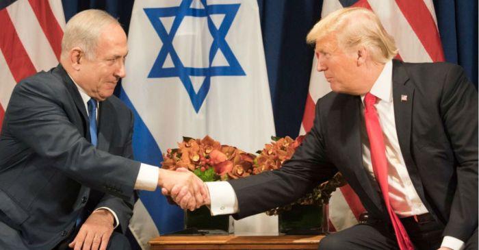 Benjamin Netanyahu sent an emotional message to President Trump after he handed Israel a huge victory