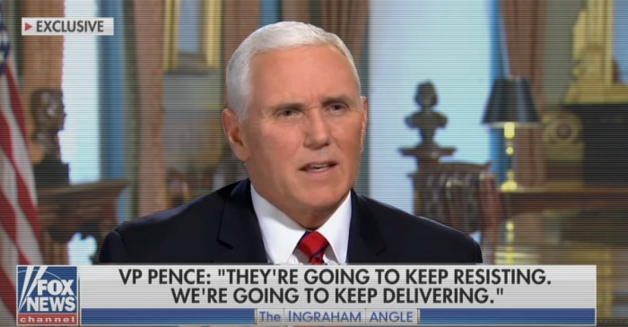 In his latest interview, Mike Pence bashes the polls and says what he really thinks of Trump