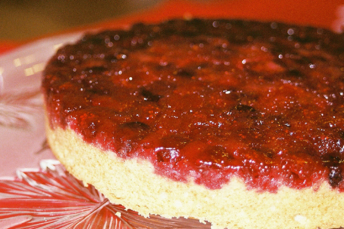 If you love pineapple upside-down cake, try this holiday version