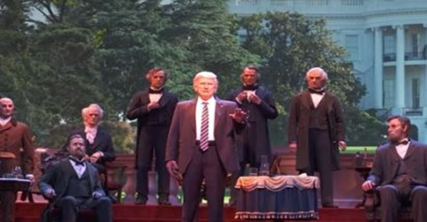 Disney unveils President Trump's Hall of Presidents animatronic, and the internet can't handle it