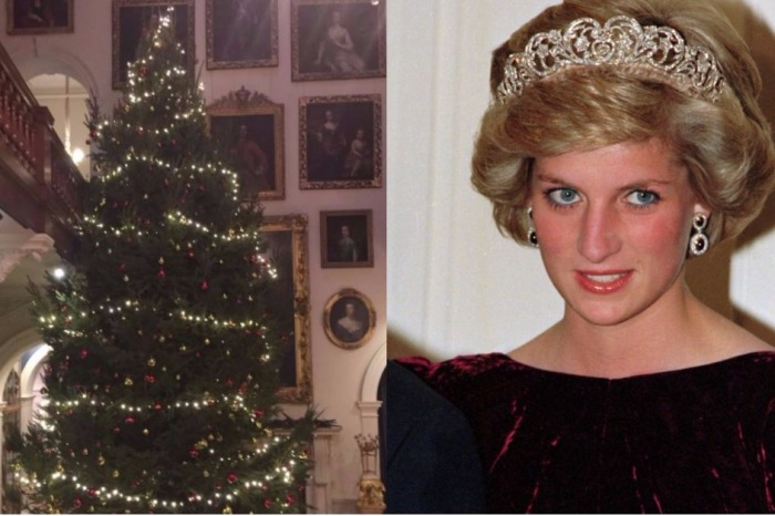 Princess Diana's childhood home is all decked out for the holidays! Get a peek inside Althorp Estate