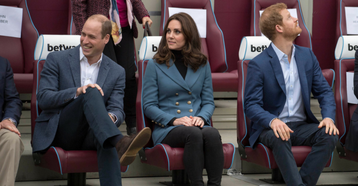 With his track record, Duchess Kate may not be pleased Prince William is throwing Harry's stag party