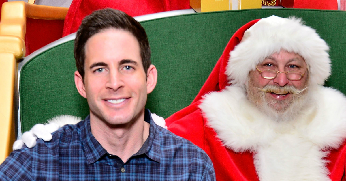 """""""Flip or Flop"""" star Tarek El Moussa has some solid advice for anyone who's single during the holidays"""
