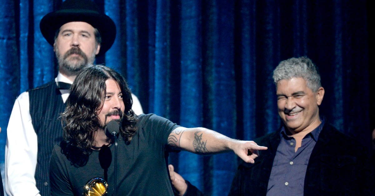 The not-dead members of Nirvana reunited to play a forgotten classic at a Foo Fighters show