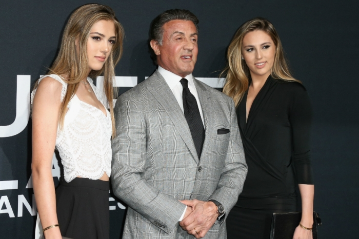 Hollywood legend Sylvester Stallone shares the perfect family photo featuring his incredibly glamorous daughters