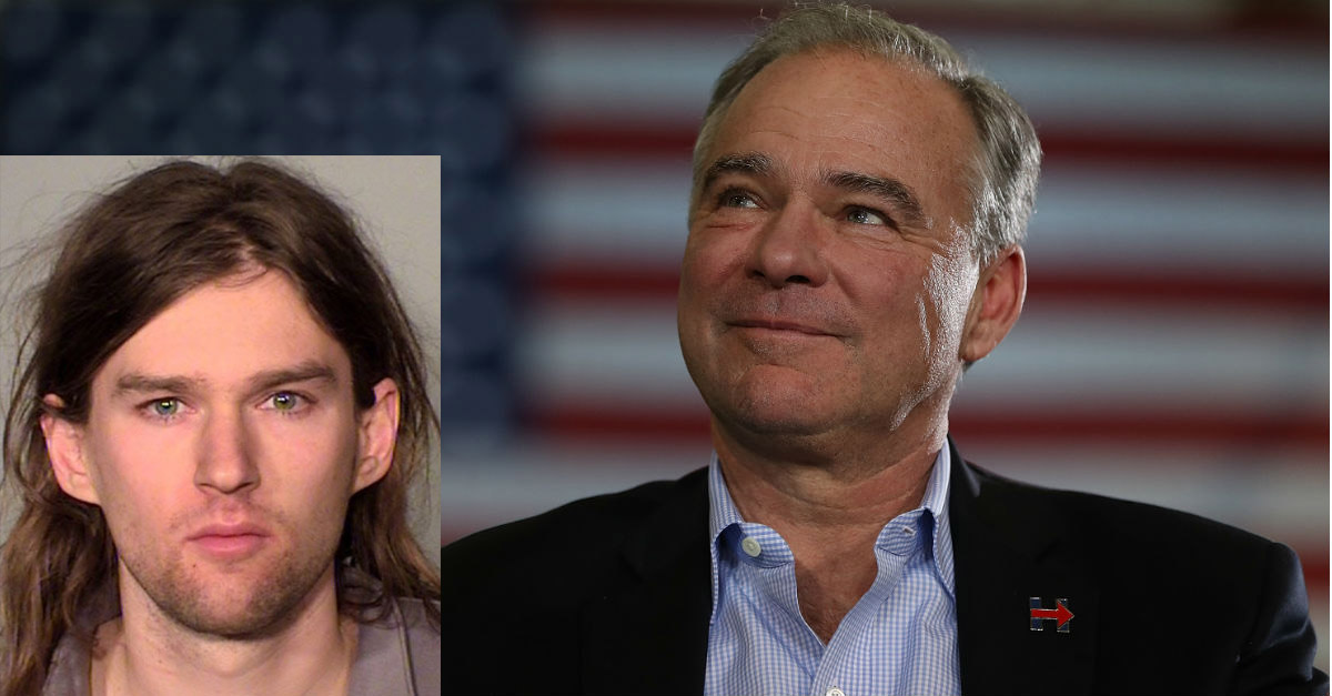 Tim Kaine's son has learned his fate after being arrested for protesting a Trump rally