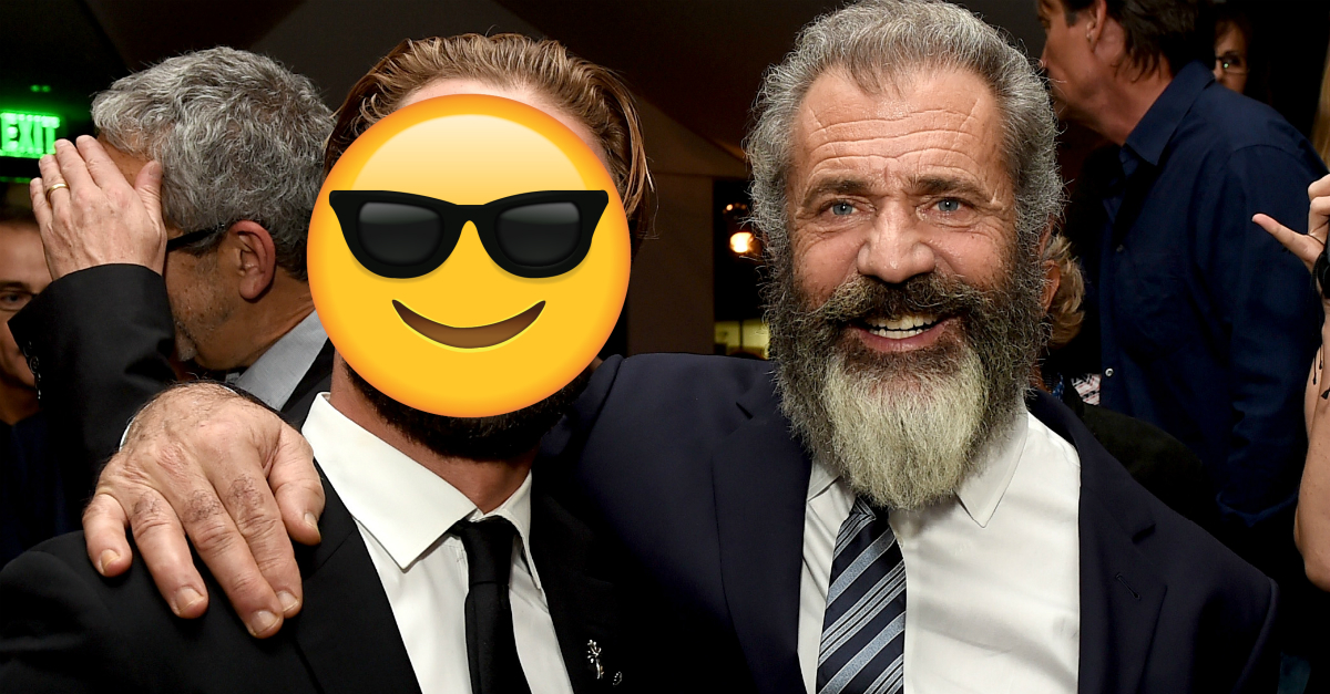 Mel Gibson's look-alike son is a chip off the old block who really wants to follow in his father's footsteps