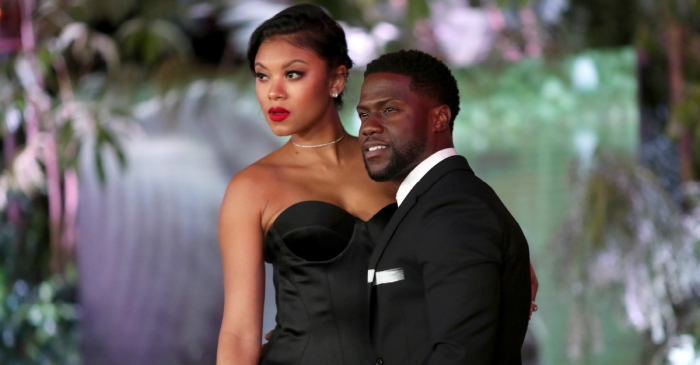 "Kevin Hart admits being caught cheating on his current wife was ""a gut-punch from God,"" but has no regrets about cheating on his first wife"