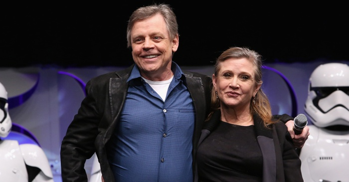 Mark Hamill posted a touching tribute to Carrie Fisher a year after her sudden death