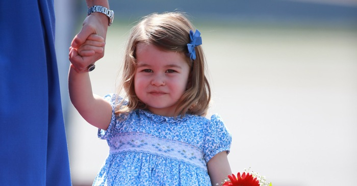 Princess Charlotte is growing up and getting ready for her first day of school