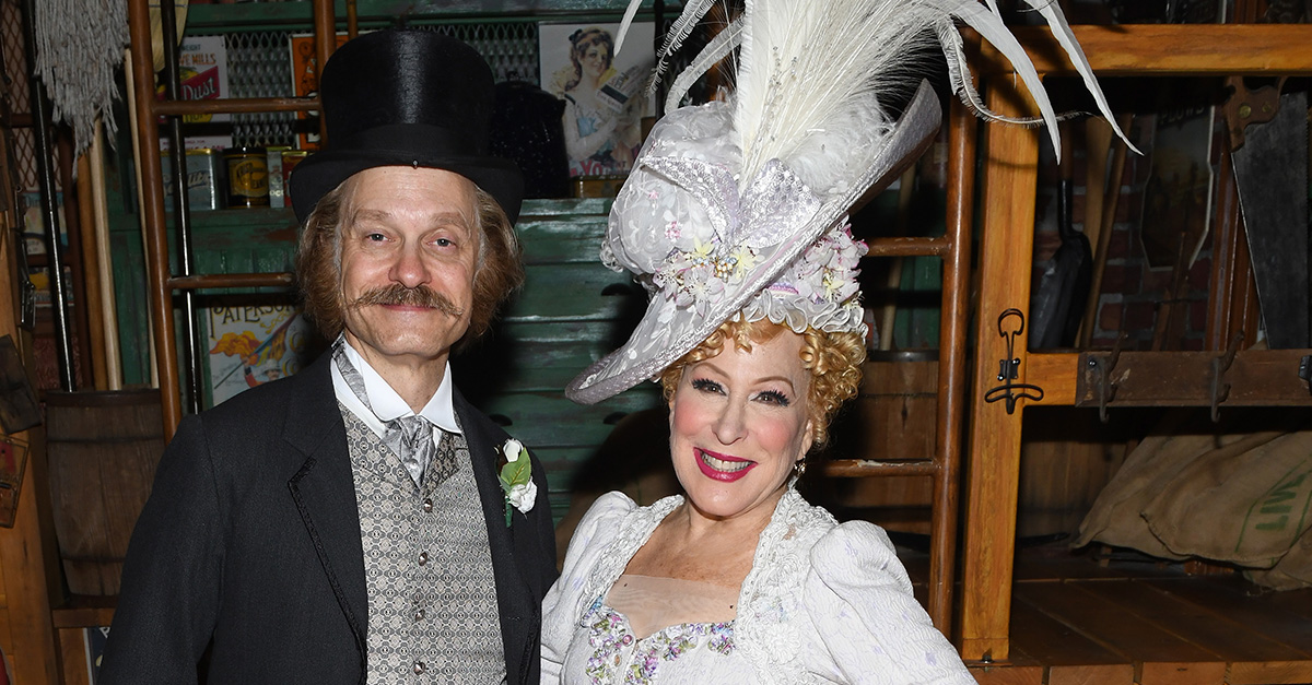 """Bette Midler rings in her 72nd birthday with a surprise party thrown by her """"Hello, Dolly!"""" castmates"""