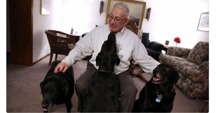 South suburban mayor risked his life after the unthinkable happened while walking his dog