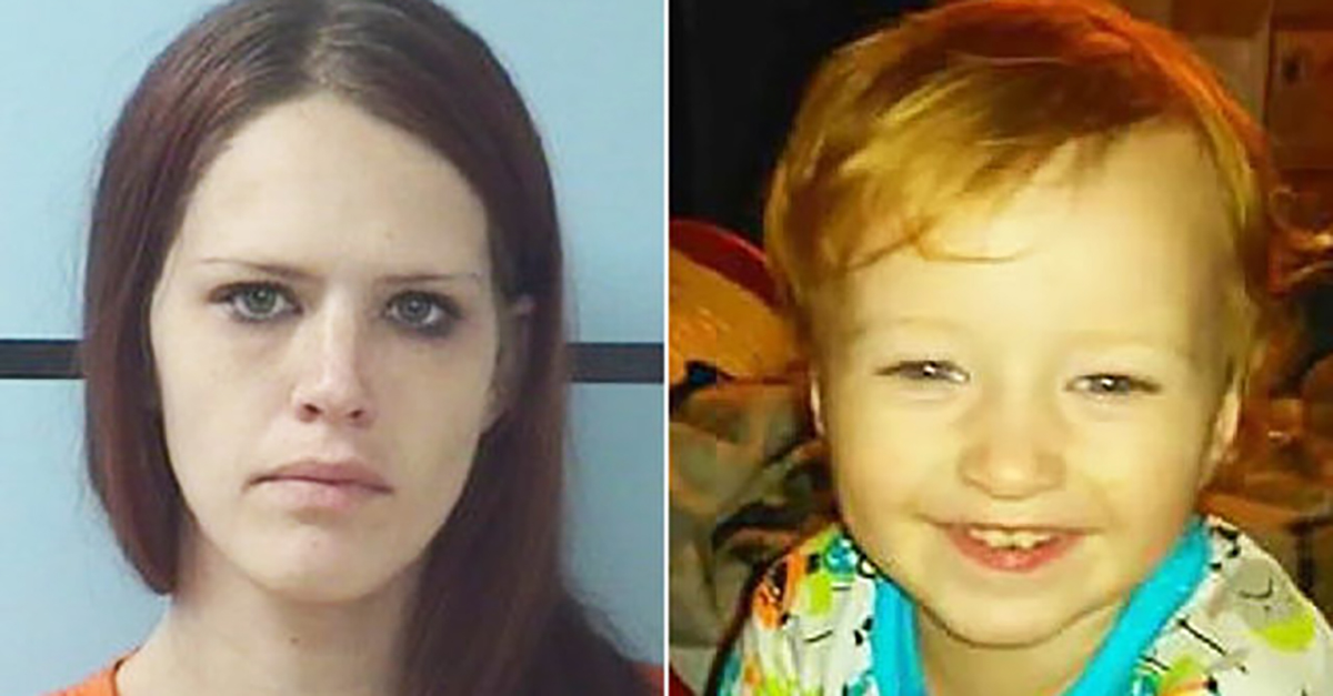 What a North Carolina mom was doing while her 3-year-old son froze to death outside is an outrage