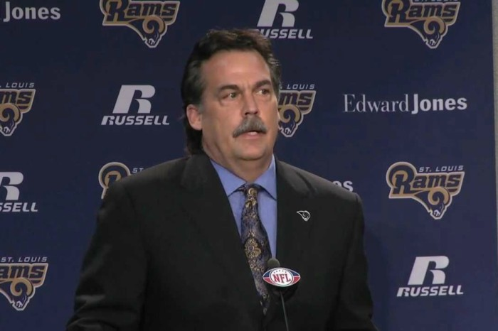 What's on Jeff Fisher's Christmas list? To coach the Bears next year.