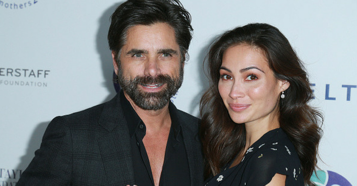 John Stamos rushed to his fiancée's side after a major burglary interrupted their wedding festivities