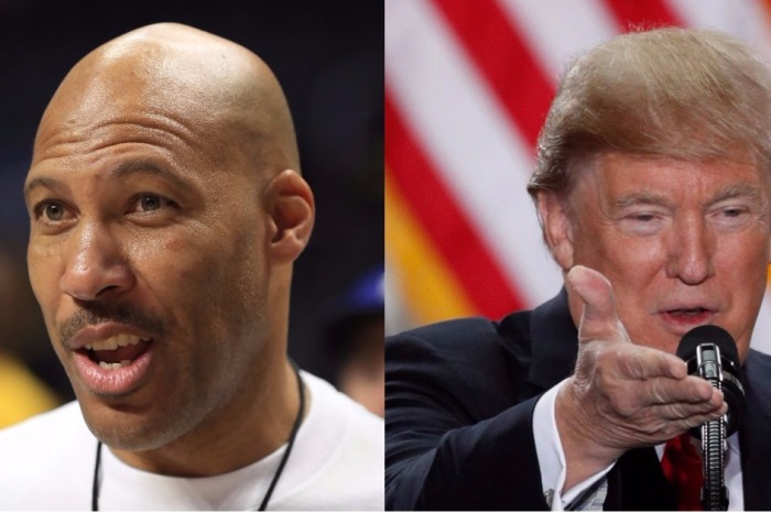 Loudmouth LaVar Ball slams Donald Trump with new video — literally