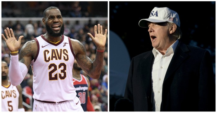 "He called Trump a ""bum"" in the past, and now LeBron James is doubling down"