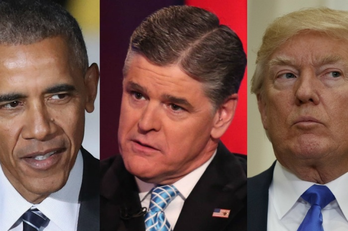 """Sean Hannity claims former President Obama has a """"twisted"""" obsession with President Trump"""