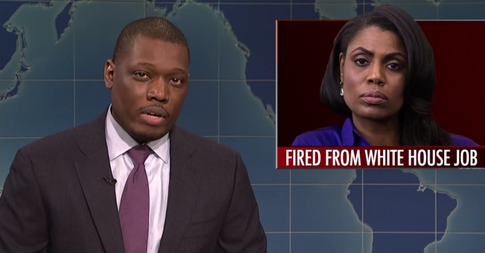 """""""Saturday Night Live"""" had lots to say about the latest White House staff departure"""