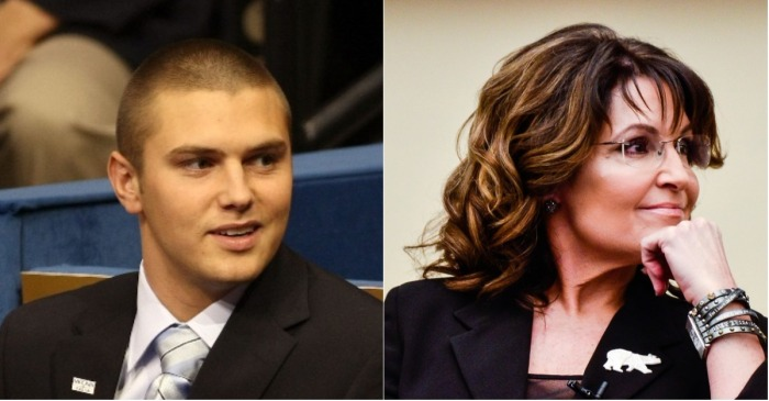 Sarah Palin's son Track released on bail after assaulting his father, but he won't be going anywhere anytime soon