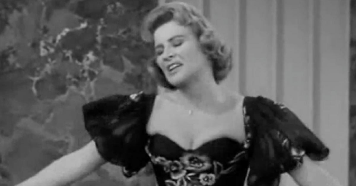 Remember Rose Marie with a laugh by watching this hilarious clip from one of her famous bits