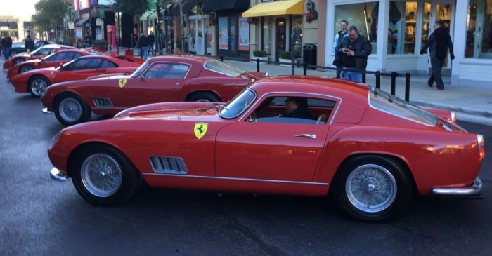 Houston's supercar enthusiasts recently came together for Ferrari's 70-year anniversary