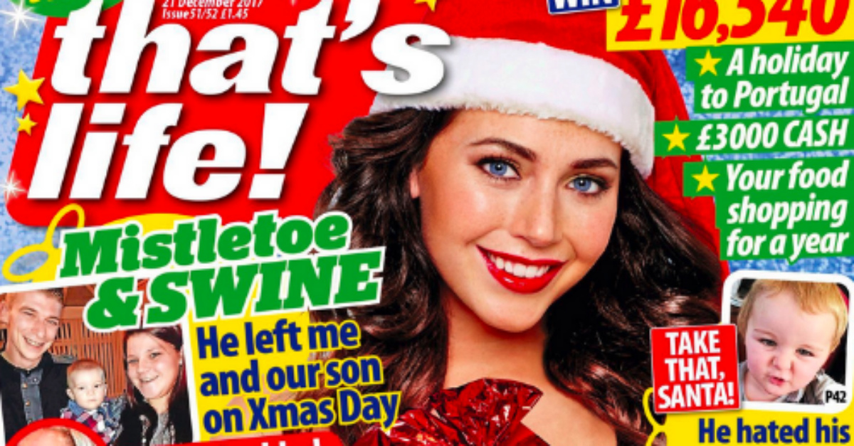 Bizarre and unsettling magazine cover takes internet by storm — and we want a copy