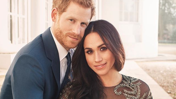 A fellow royal prince snapped Prince Harry and Megan Markle's stunning engagement photos