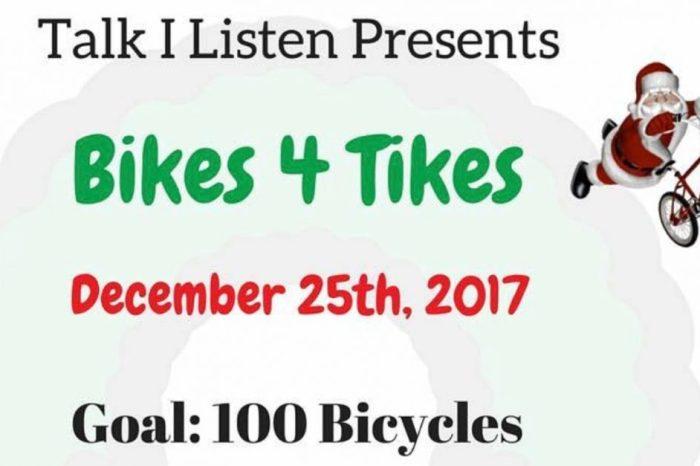 University of Houston student organizes Christmas bicycle donation drive