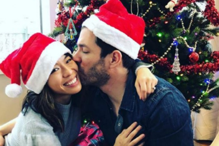 Drew Scott and Linda Phan are one of the most endearing celebrity couples around, and their festive family photo shows why