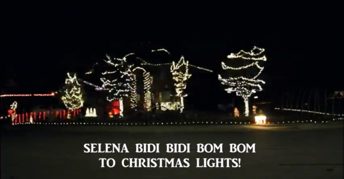 This Texas family may be winning Christmas with their Selena-themed holiday light show