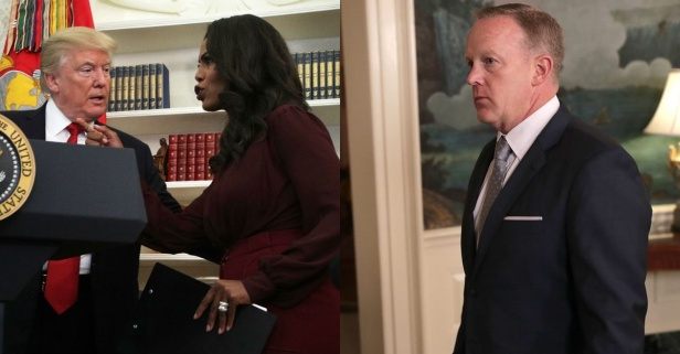 Sean Spicer had a surprising response when asked why Omarosa was hired by President Trump