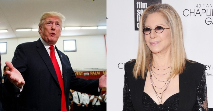 Barbra Streisand blamed Donald Trump for the Florida school shooting