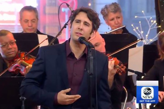 "Please allow Josh Groban to get you into the holiday spirit with this stunning performance of ""White Christmas"""