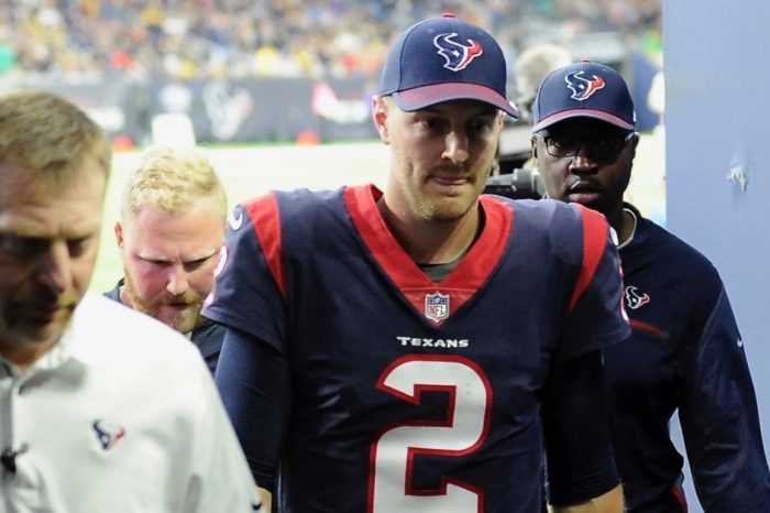 Houston is back at square one after several Texans QBs underwent NFL concussion protocol during Monday's game