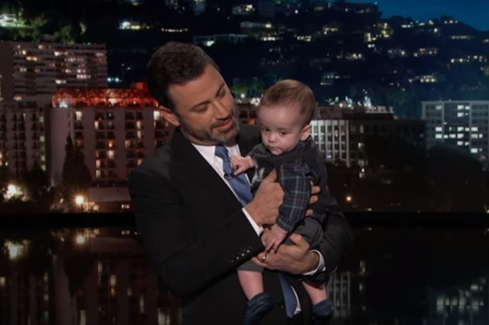 Jimmy Kimmel got choked up when he introduced this very special guest to his audience