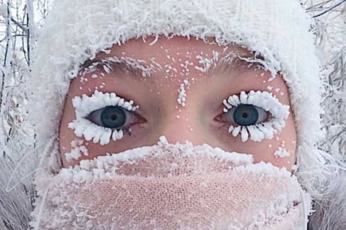 Photos from negative 62-degree weather emerge online — and we're shivering