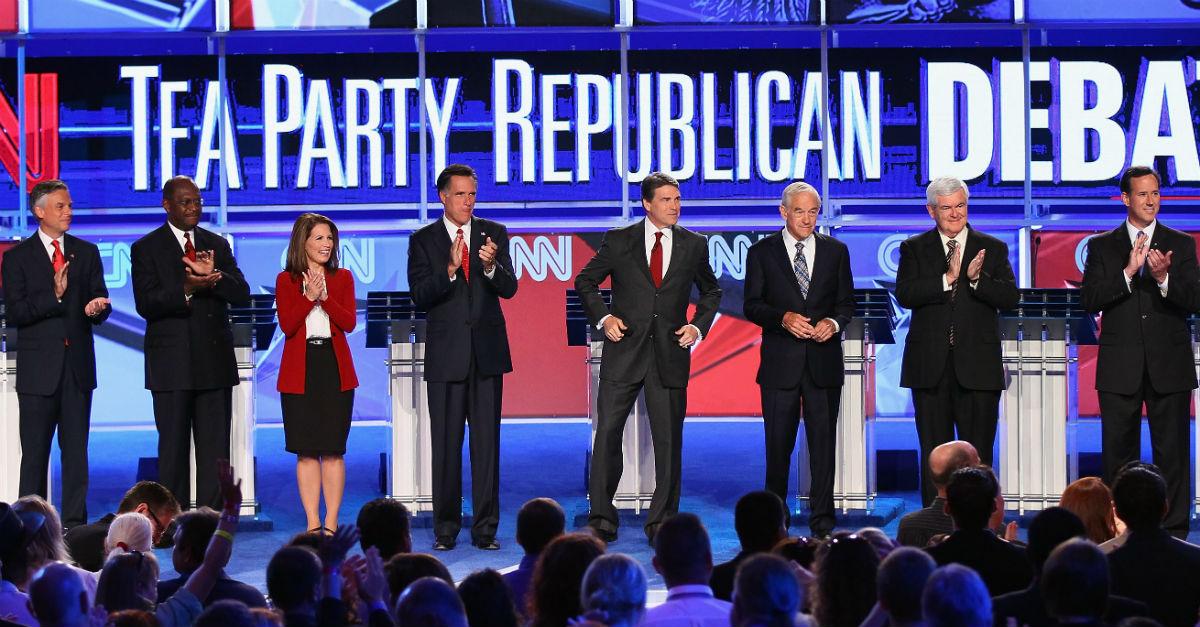 A familiar Tea Party star may run for Al Franken's empty Senate seat