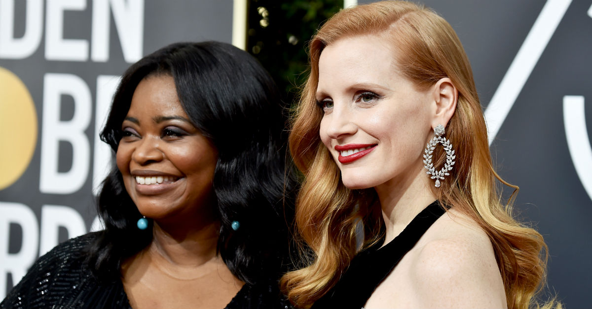 Jessica Chastain helped boost Octavia Spencer's salary for new project—and we're cheering