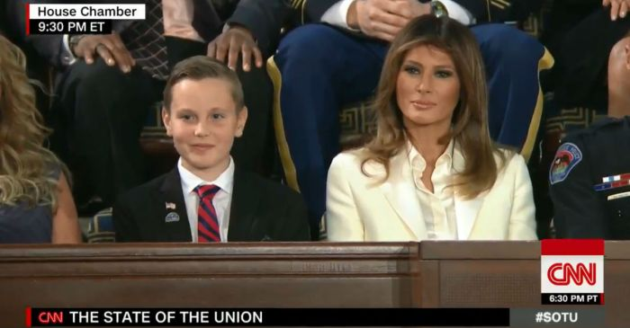 President Trump honors the young boy who made a heartwarming change for veterans