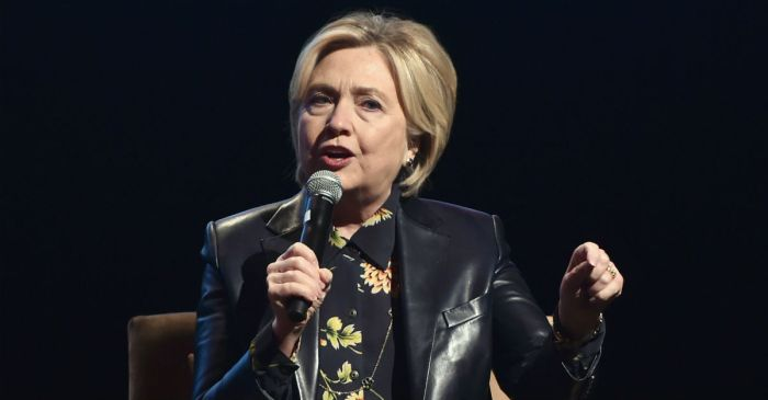 Hillary Clinton deflected her sexual misconduct controversy as many were focused on another event