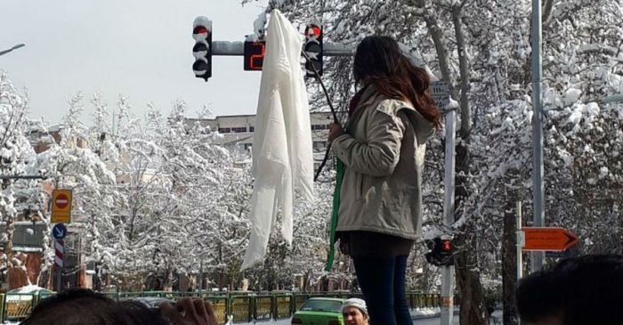 Women in Iran are so done with mandatory hijab rules and are risking it all to show it