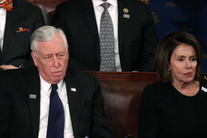 Conservative Twitter fired shots after noticing something off with Nancy Pelosi during the State of the Union